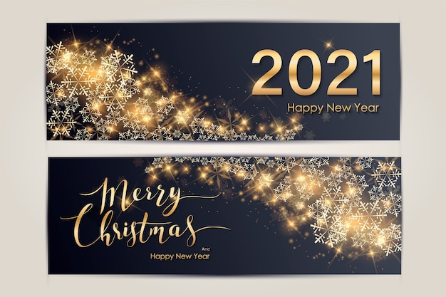 Baner świąt bożego narodzenia i nowego roku