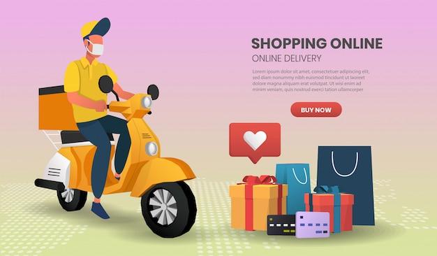 Baner szablonu zakupy online
