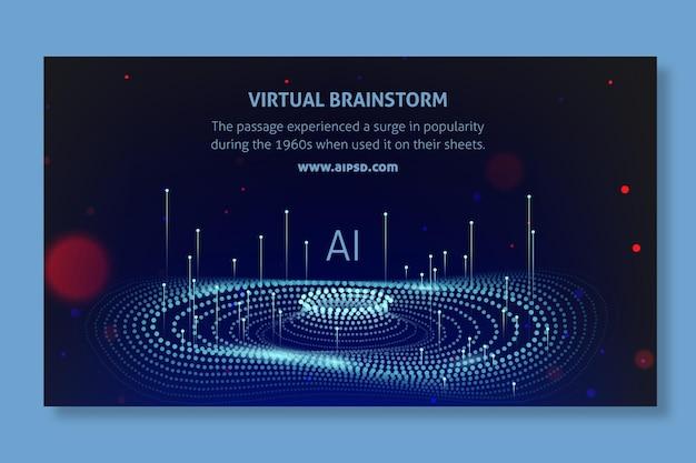 Baner sztucznej inteligencji