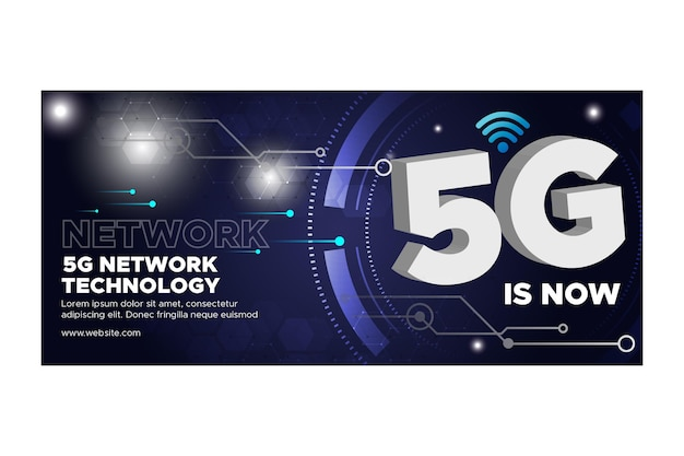 Baner technologii 5g