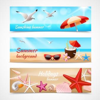 Baner wakacji letnich