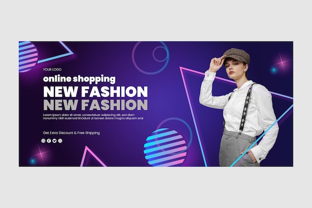 Baner zakupów online