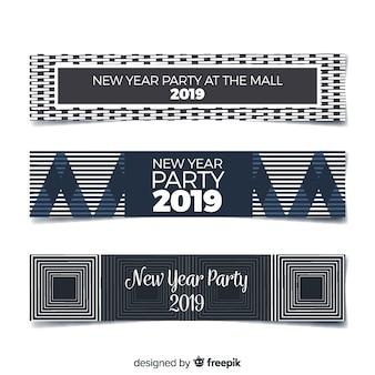 Banery 2019 nowego roku