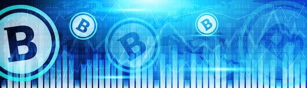 Banery bitcoin charts
