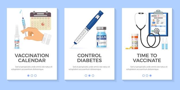 Banery cukrzycowe szczepień