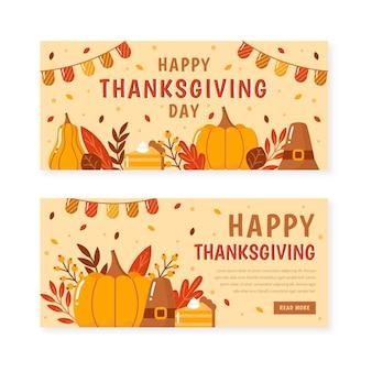 Banery dziękczynienia