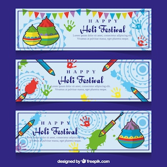Banery festiwalowe holi