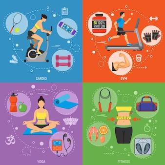 Banery fitness i siłownie