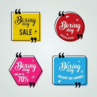 Banery na sprzedaż w boxing day