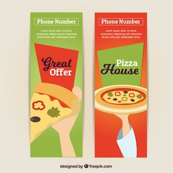 Banery ofert pizzeria