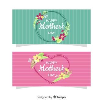 Banery płaskie dzień matki