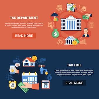 Banery poziome dział podatkowy