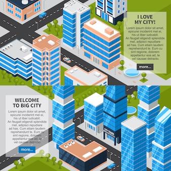 Banery poziome miasta