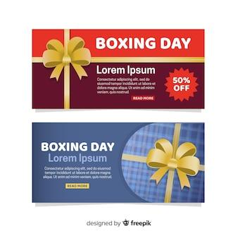 Banery sprzedaż dzień boxing