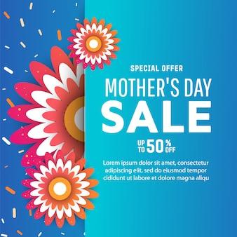 Banery sprzedażowe z okazji dnia matki.