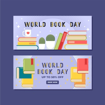 Banery światowy dzień książki