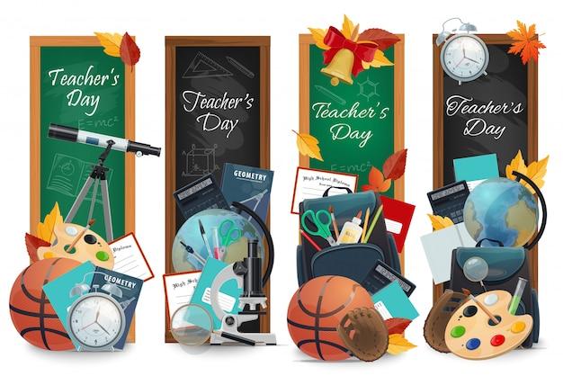 Banery szkolne dzień nauczyciela