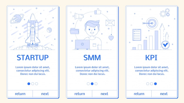 Banery telefoniczne, startup, smm, kpi