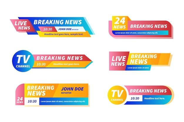 Banery z najnowszymi wiadomościami
