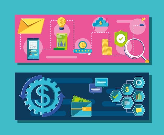 Banery zarządzania finansami