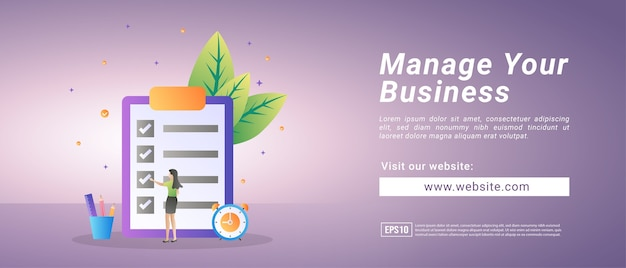 Banery zarządzania przedsiębiorstwem, szkolenia z zarządzania przedsiębiorstwem. banery reklamowe