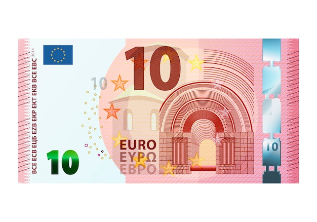 Banknot dziesięć euro