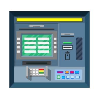 Bankomat bankowy. bankomat.