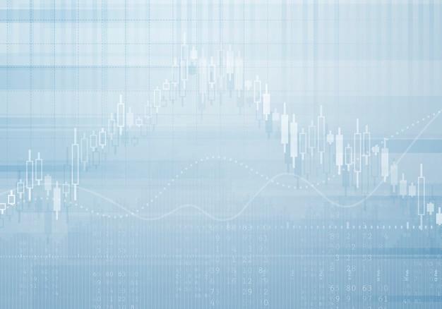 Bankowość biznesowego wykresu wektoru tło