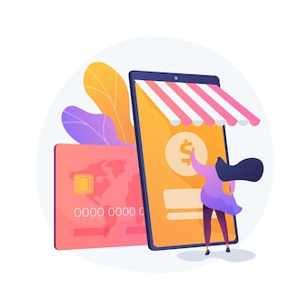 Bankowość mobilna, aplikacja do bankowości elektronicznej. portfel cyfrowy, system płatności online, aplikacja bankowa. nowoczesne usługi finansowe, element projektu koncepcji płatności.