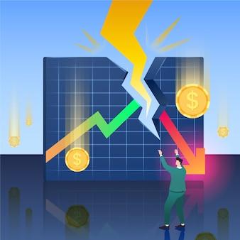 Bankructwo i tracenie pieniędzy