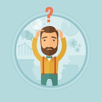 Bankrut nie wie, co zrobić z kryzysem finansowym.
