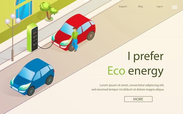 Banner jest napisany. wolę eco enegry cartoon.