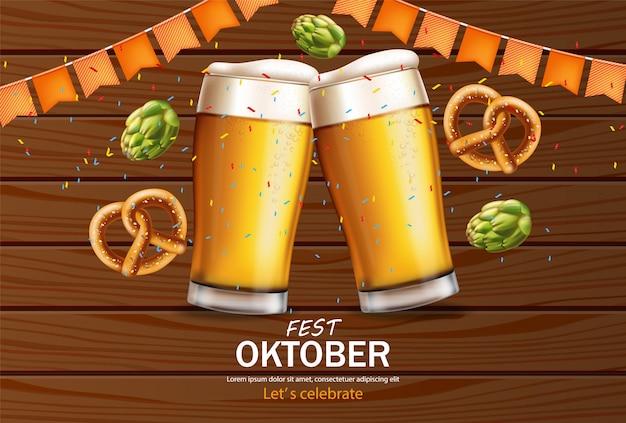 Banner kufle do piwa październikowy fest