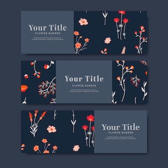 Banner kwiat lato