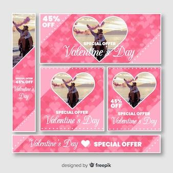 Banner sieciowy Walentynki