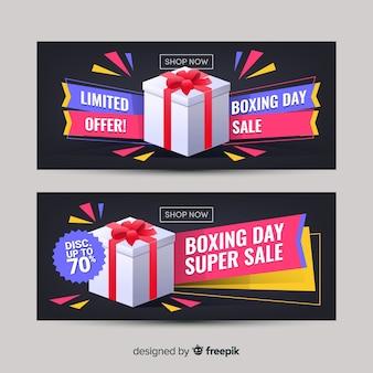 Banner sprzedaży na dzień świąteczny