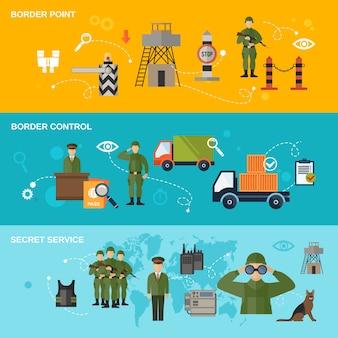 Banner straży granicznej