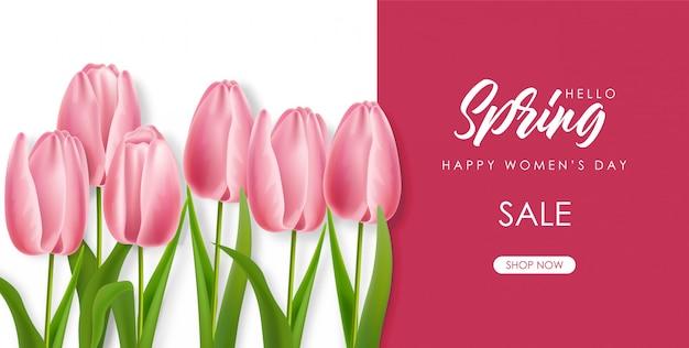 Banner witaj wiosny