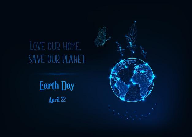 Banner z okazji dnia ziemi