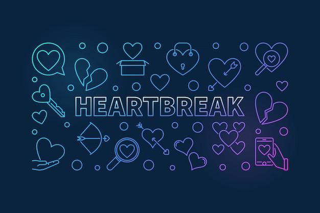 Banner złamanego serca