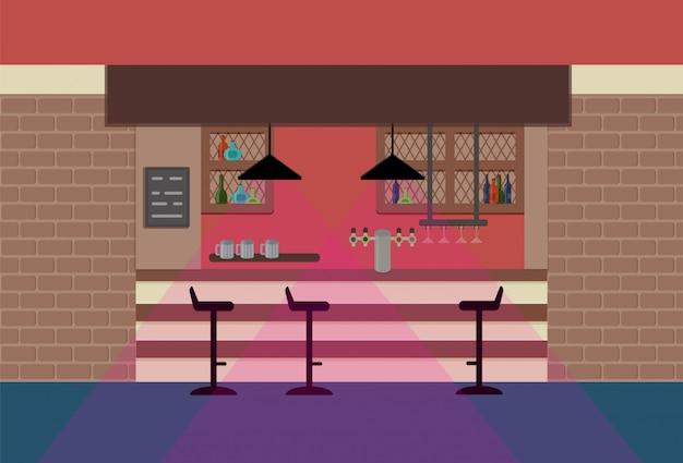 Bar w pubie