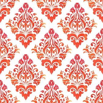 Barok bezszwowe tło wzór. elegancka luksusowa tekstura tapet