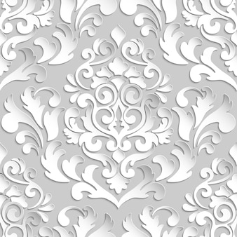 Barok bezszwowe wzór