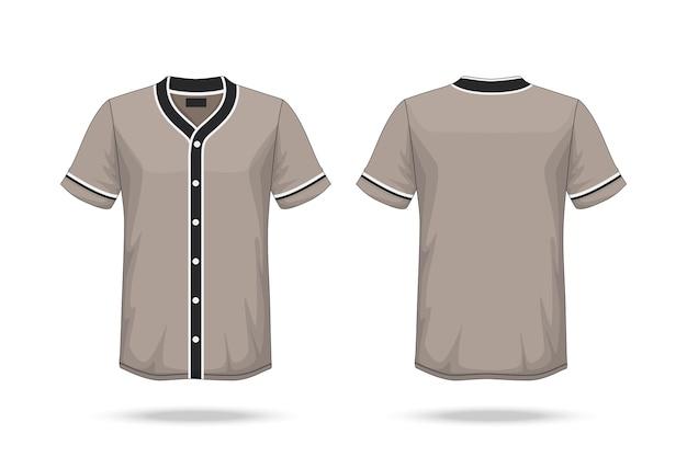 Baseball t shirt mockup