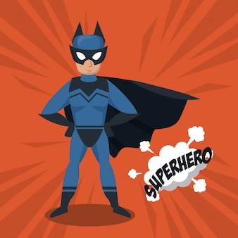 Bat superhero