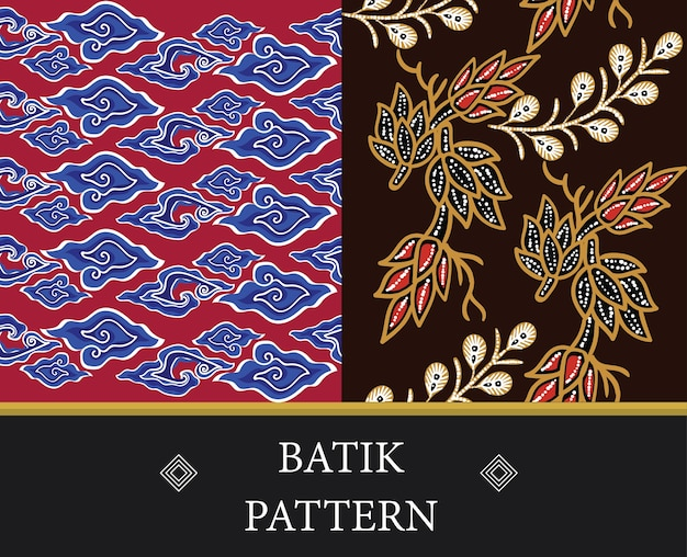 Batik bez szwu deseń