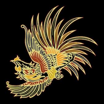 Batikowy ptak
