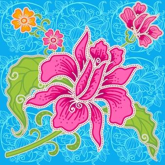 Batikowy wzór