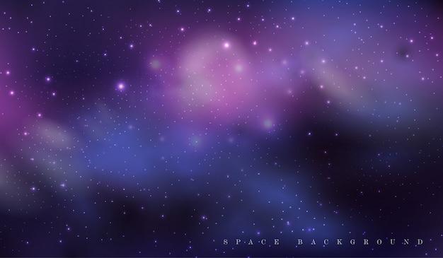 Bautiful ciemne tło przestrzeni