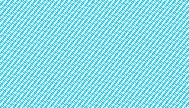 Bawarska tapeta. bezszwowy szablon na tradycyjne tkaniny, obrusy i sukienki dirndl na oktoberfest. niebiesko-białe romby ukośne. wzór w kratkę.